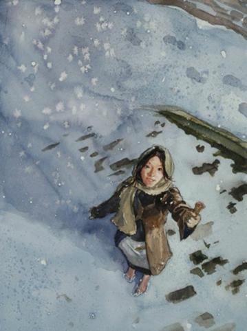 謝天下童話集:賣火柴的小女孩